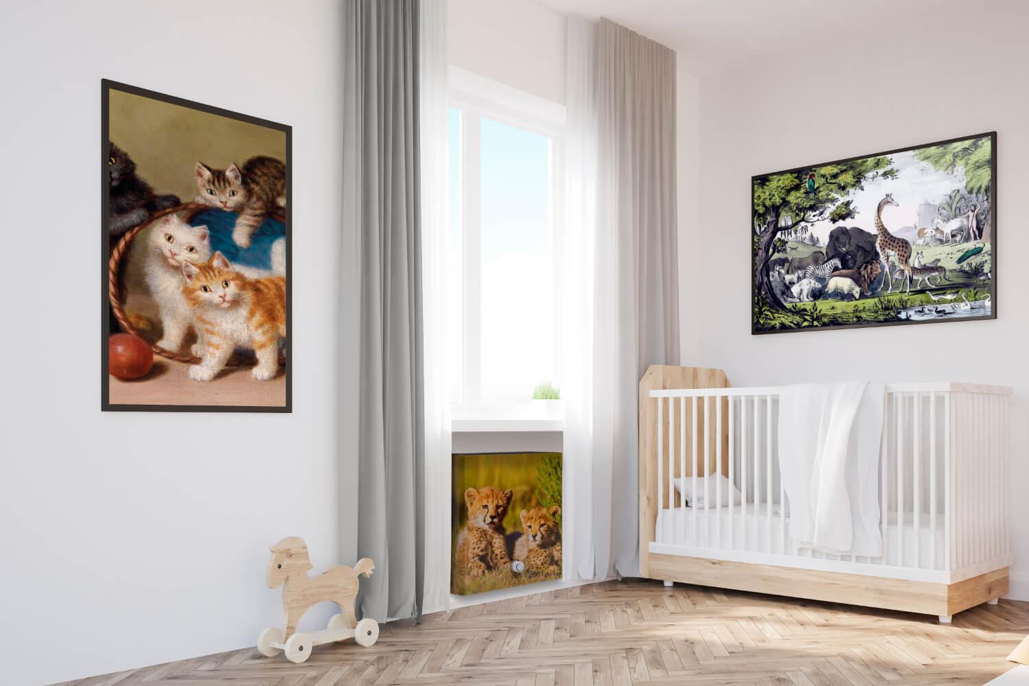 TomTon Design Radiator R1 Im Kinderzimmer