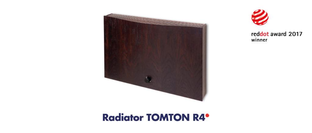 Design Radiator R4 TomTon reddot award 2017