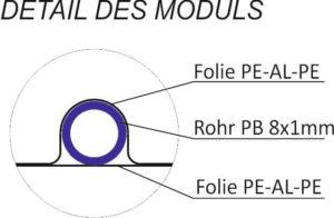 deckenkühlung CoolFlex modul detail aufbau enolution